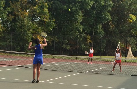 Lady Wolverines serve up lots of love on tennis court