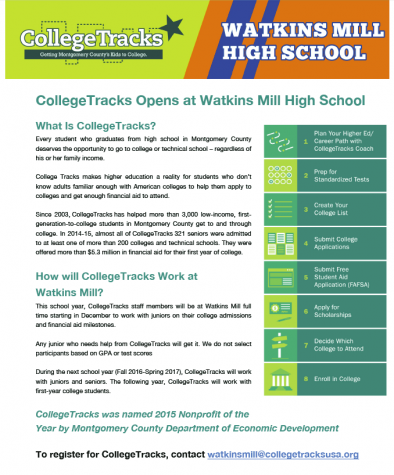 CollegeTracks provides financial aid, application help for all students