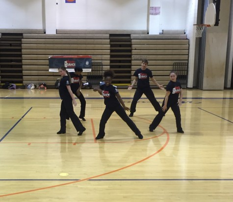 Clancyworks Dancers wow students at lunchtime dance performance