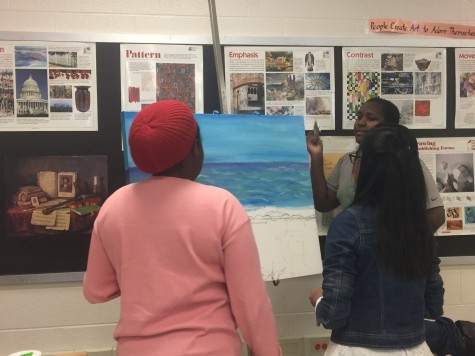 Art students take art out of school into community with Youth in Healing, field trips