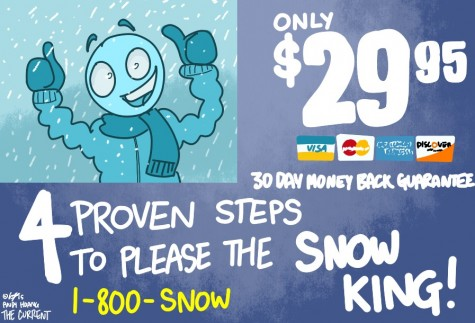 Want that snow day now? Better follow these steps to pleasing the Snow King