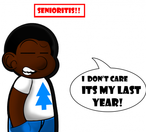 Seniors begin to recognize that end-of-year disease is real, struggle to finish strong