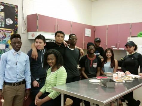 Learning for Independence students join culinary arts for four days