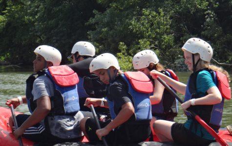 Youth Summit takes freshmen rock-climbing as bonding experience