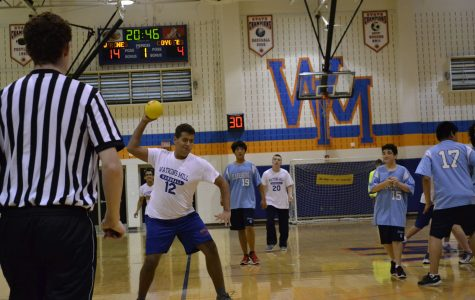 Varsity Allied Handball ends their season with fun