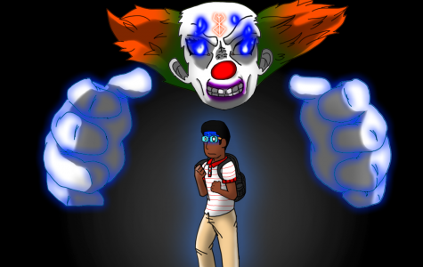 Creepy clowns don't know what's coming if they see Exlee