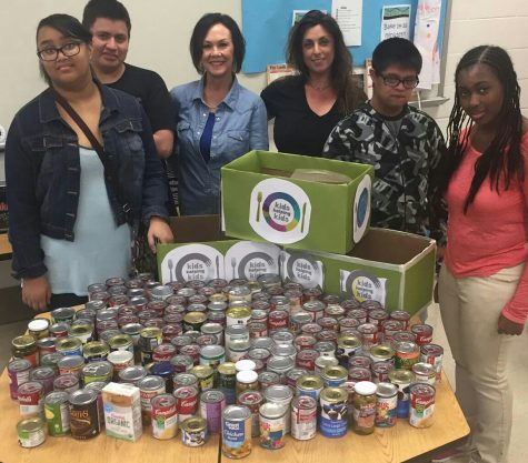 LFI students donate as part of Kids Helping Kids Food Drive