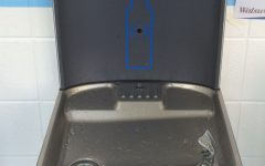If other schools have water bottle filling stations, we deserve at least working fountains