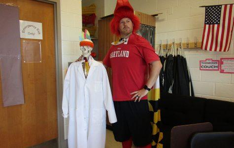Homecoming spirit week starts with Maryland Monday