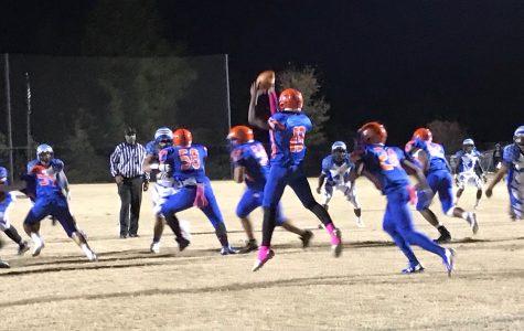 Varsity Football is ready to jab at the Knights on Senior Night