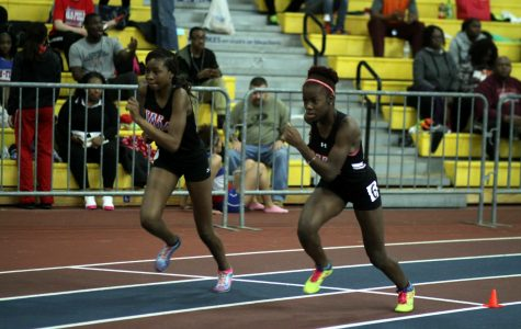 Indoor track jumps far, sets personal records