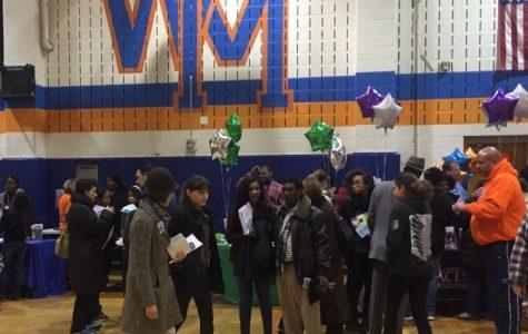 Rising freshmen visit Watkins Mill for Eighth Grade Parent Night