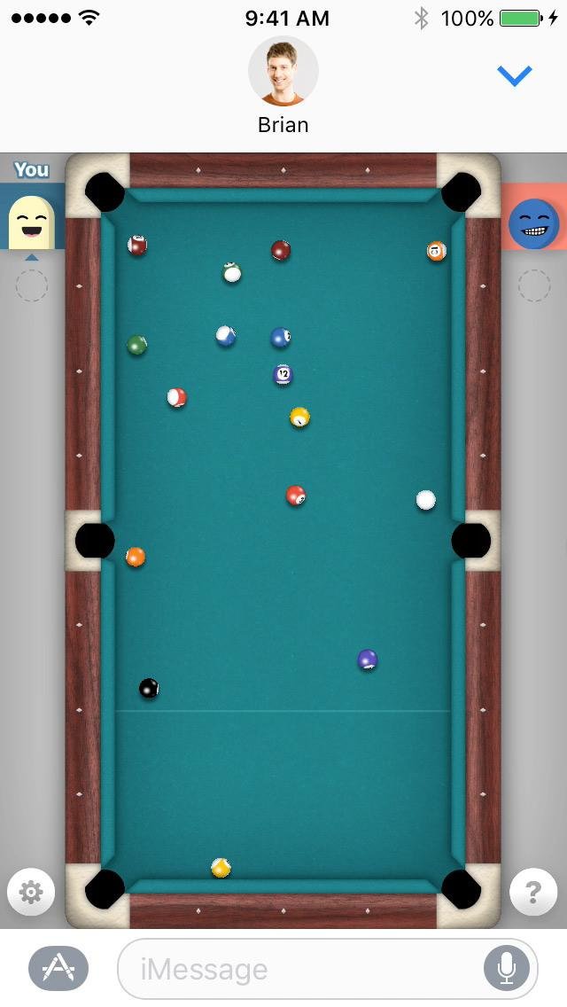 The game 8 Ball