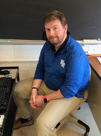 Social studies teacher brings passion for teaching to Watkins Mill