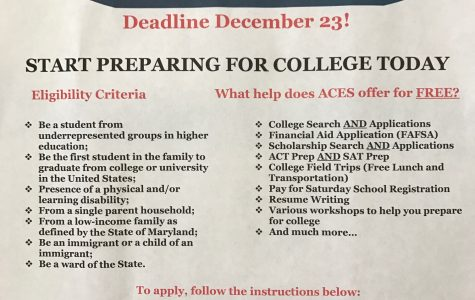 College prep program helps juniors 'ACE' SAT, ACT