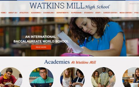 Watkins Mill gets face lift with new website