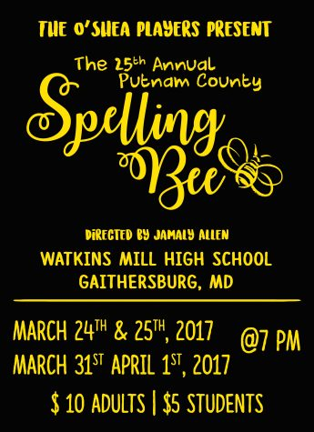 O'Shea players prepare to perform '25th Annual Putnam County Spelling Bee'