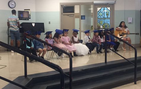 Child Development celebrates preschoolers success with graduation