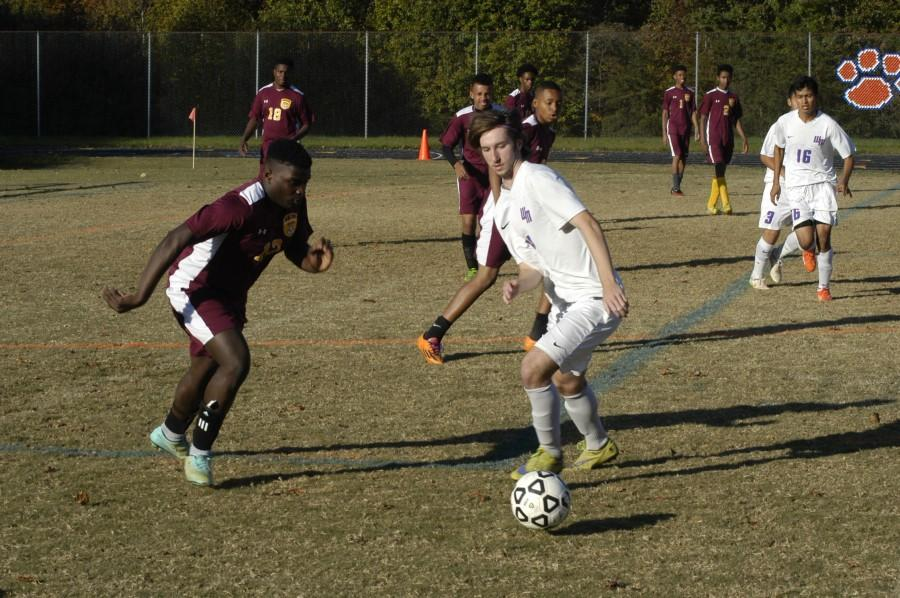 Watkins Mill High school faces off against  The Seed School on October 20.