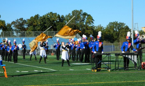 Band marches on competition at Music in Motion