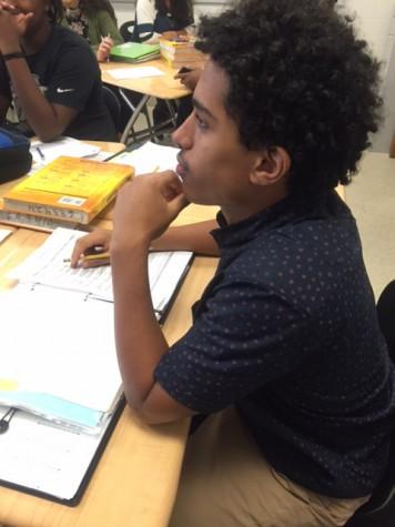 Sophomore trades helmet for headphones to pursue dreams of music