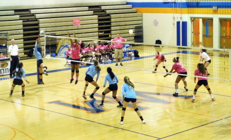 Volleyball bumps up enthusiasm against Titans in game today