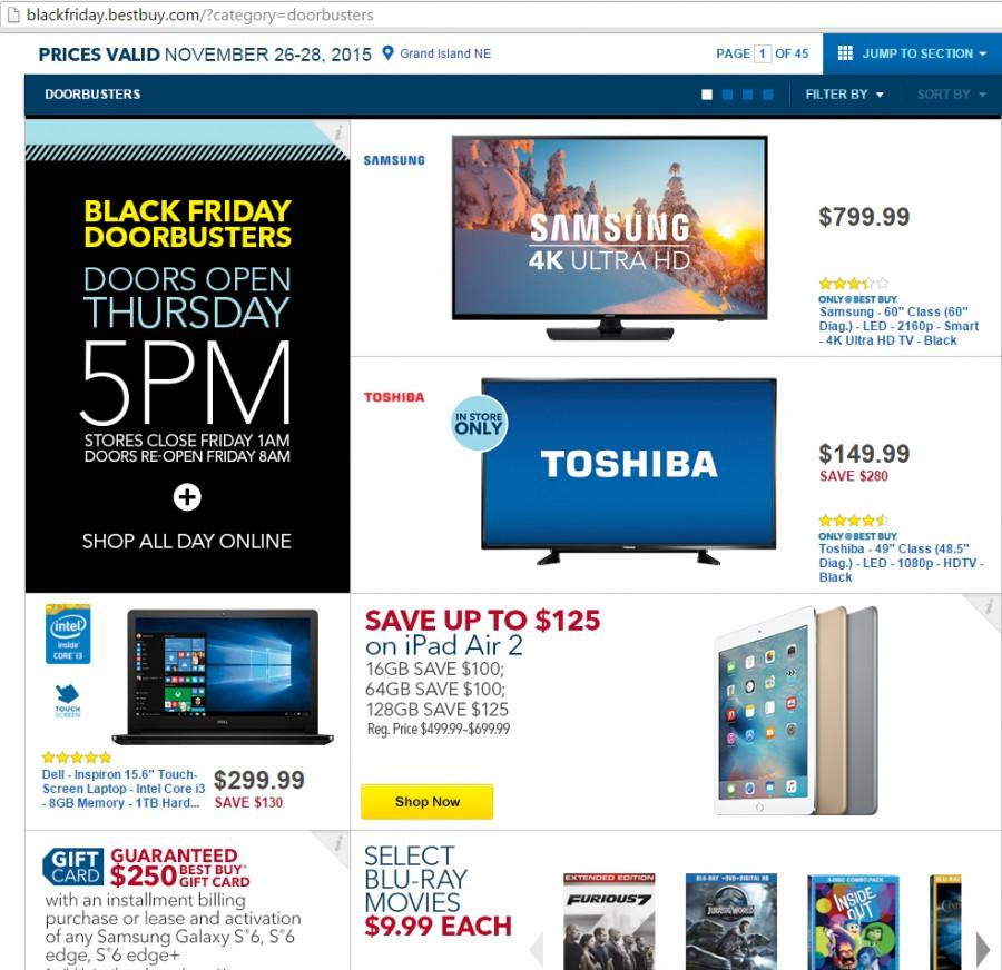 Great deals lure Black Friday shoppers; crowds keep some waiting until Cyber Monday