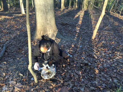 Outdoor Recreation and Conservation Club promotes green school, helps environment