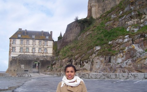 Young experiences history before she teaches it through extensive travel, adventurous foods