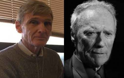 English teacher David Sampselle is often compared to movie star Clint Eastwood. He agrees that he looks like Clint Eastwood and that they both have the same strong machismo and jawbone.  All Sampselle is lacking is Eastwood's money.