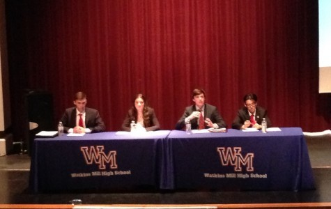 Students from across MCPS gather at Watkins Mill to nominate SMOB candidates