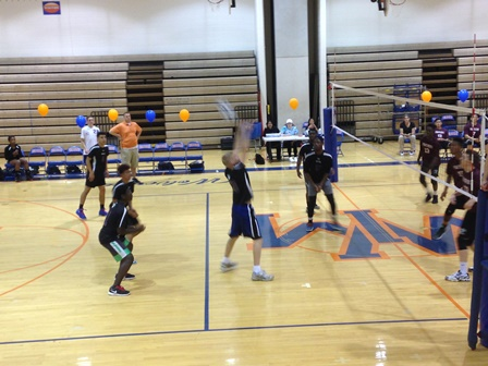 Coed, boys volleyball finish season, say farewell to seniors