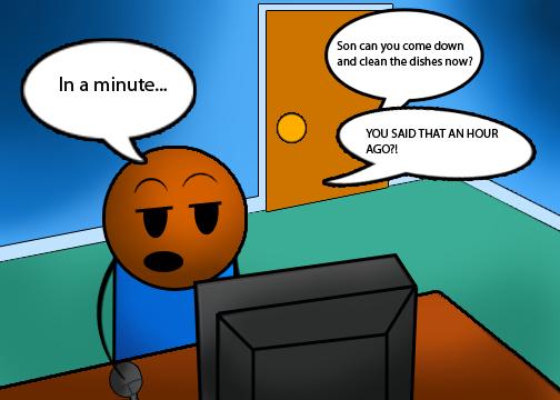 Procrastinator waits till last minute to write his column