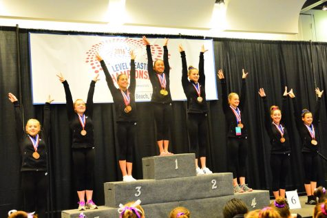 Freshman takes first place at 2016 Eastern National gymnastics competition