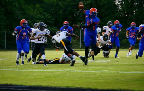 The season opener against the Frederick Cadets. The 'Rines dominated the Cadets 44-00