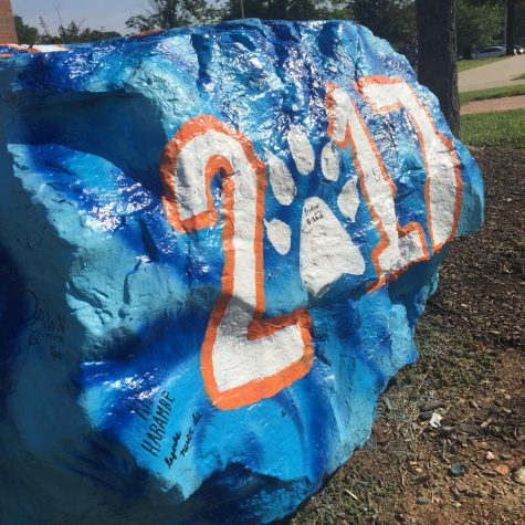 Seniors rock traditions with spirited painting