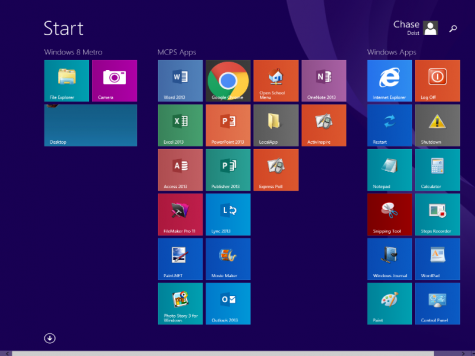 No 'remind me later' option at school, Windows 8 has arrived
