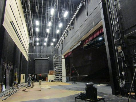 Renovations begin to replace rigging, lighting systems in auditorium