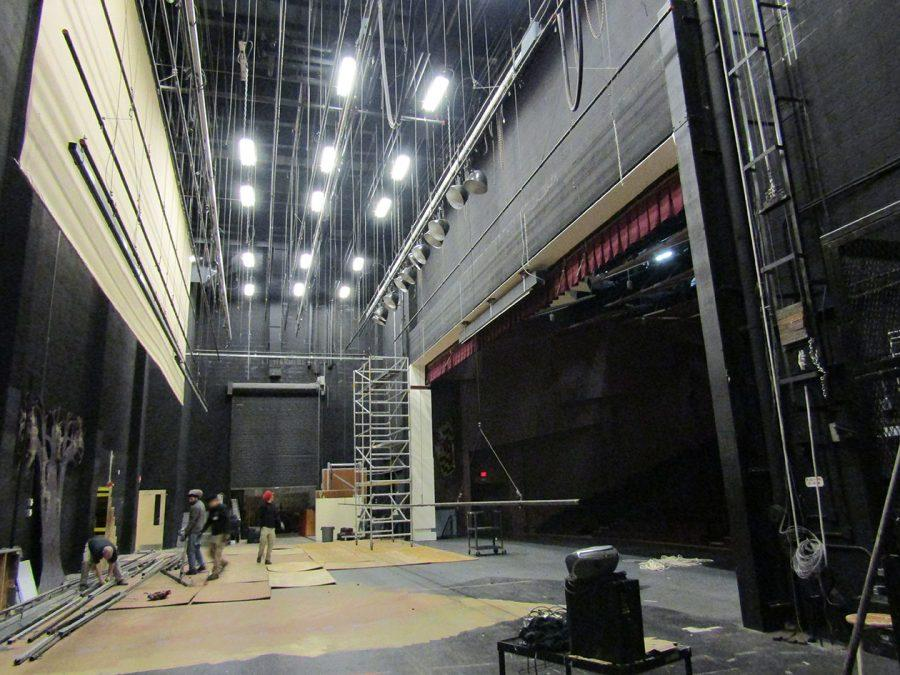 Renovations Begin To Replace Rigging Lighting Systems In