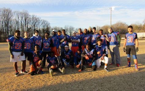 Montgomery Village police join football to defeat Seneca Valley in officers/players game