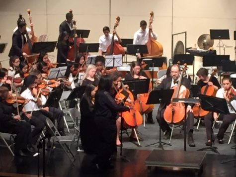 WMHS students perform joint music concert with Montgomery Philharmonic