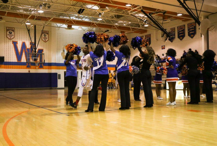 Bryson+Faison+being+introduced+on+his+Senior+Night