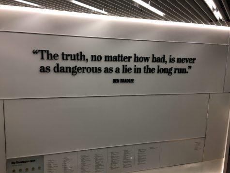 Newspaper staff takes field trip to visit Washington Post newsroom
