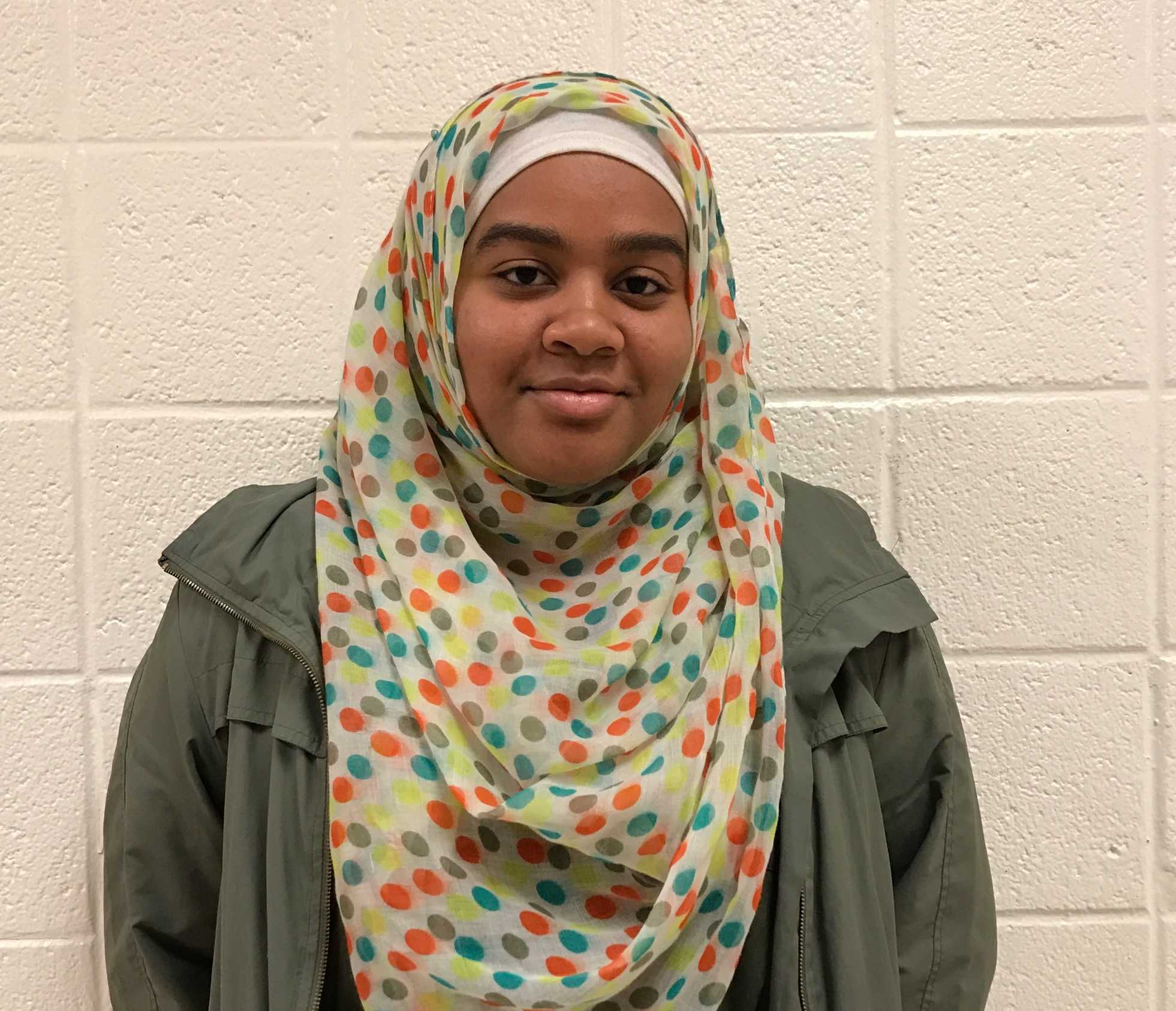 Junior Je'Nan Hayes was not allowed to play during the regional semifinal basketball game because referees said her hijab was not properly documented with the state.