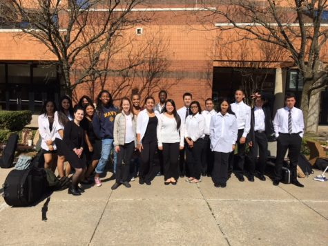 Watkins Mill musicians participate in District II Festival