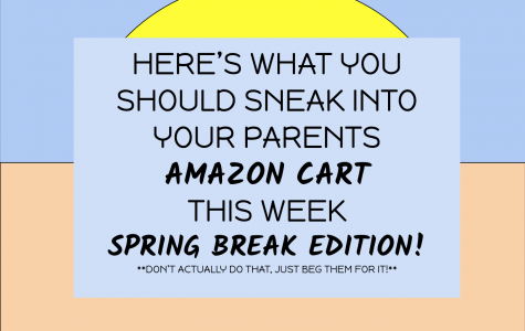 Here's what you should sneak into your parents' Amazon cart this week: Spring Break Edition!