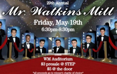 Mr. Watkins Mill competition is a huge success, contestants show audience humorous evening