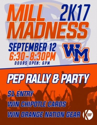 Mill Madness combines spirit, Orange Nation dance party tonight