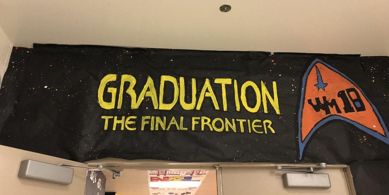 Class of 2018 Homecoming hallway