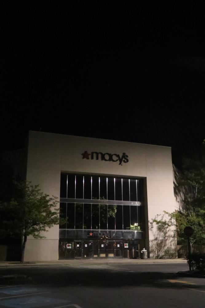 Macys department store at Lakeforest Mall.